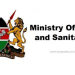 MINISTRY OF WATER, SANITATION AND IRRIGATION TENDER 2020