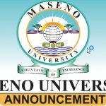 Maseno University Tender 2020