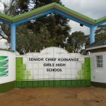 Senior Chief Koinange Girls High School TENDER