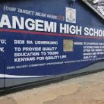KANGEMI HIGH SCHOOL TENDER 2020
